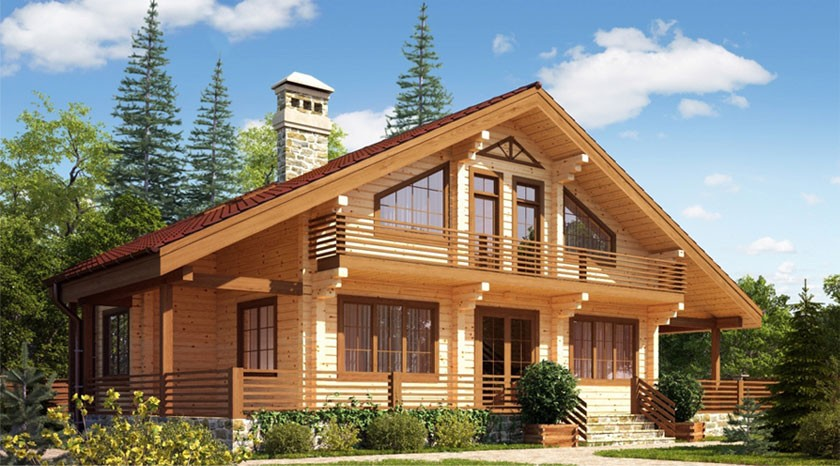 Проекты домов, загородных коттеджей, дач в Подольске